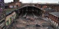 После визита мародеров рухнула крыша одного из корпусов