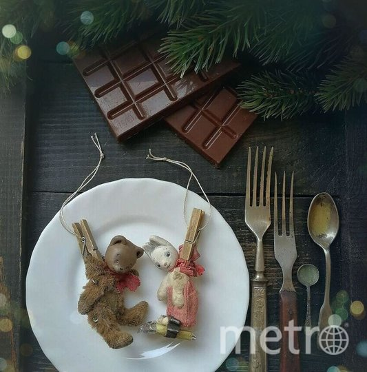 Вариант елочной игрушки. Фото instagram.com/tatyanasavelova_art