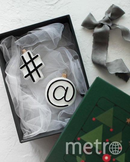 Вариант елочной игрушки. Фото instagram.com/santa.toys