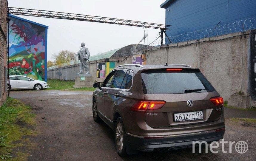 Постоянная экспозиция расположена на обширной территории Завода слоистых пластиков в районе Большой Охты. Фото Предоставлено организаторами.