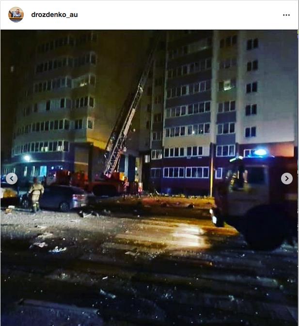 Фото с места ЧП. Фото https://www.instagram.com/drozdenko_au/