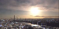 Огненный шар: падающий метеор осветил небо над Японией – видео
