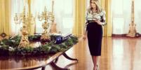 Мелания Трамп показала, как украсила Белый дом к Рождеству