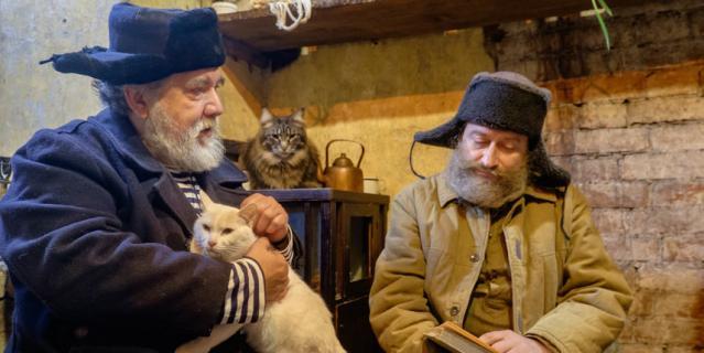 Дмитрий Шагин (слева) и Игорь Сладкевич сыграли главные роли в фильме.
