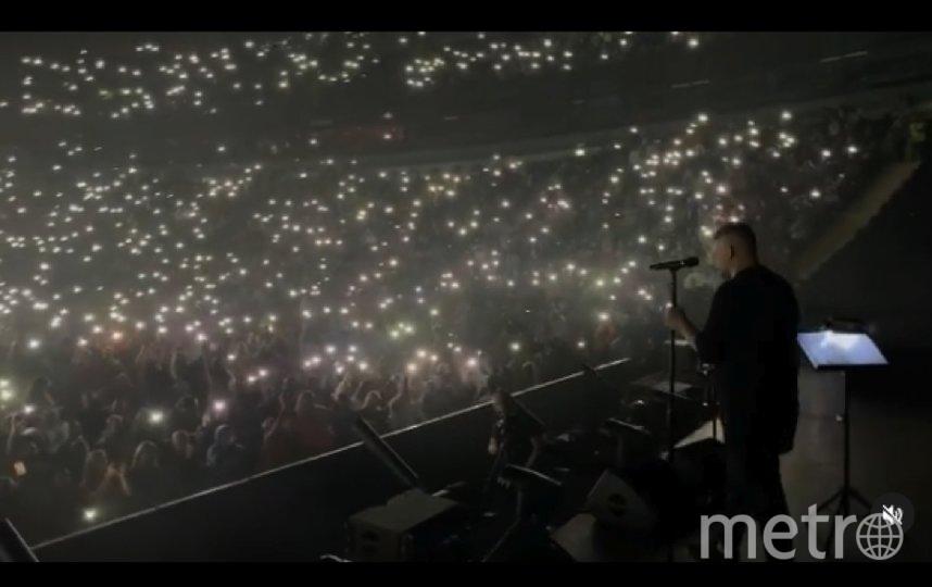 Концерт Басты в Петербурге. Фото скриншот Instagram: @bastaakanoggano