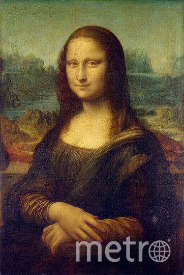 """""""Мона Лиза"""". Фото Louvre.fr"""