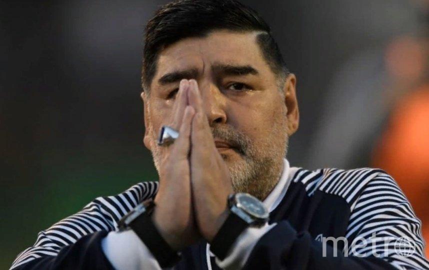 Диего Марадона. Фото Getty.