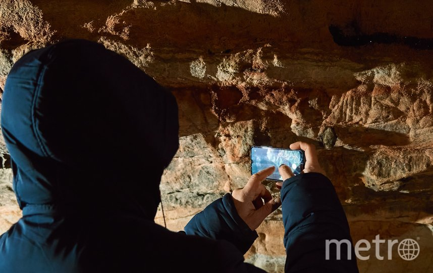 "Именно в Саблинских пещерах находится ядро колонии ночниц наттерера. Фото Алена Бобрович, ""Metro"""
