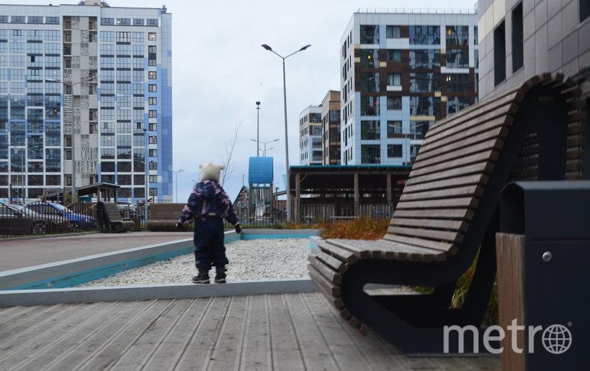 """Первый дом на намыве построили в 2013 году, но люди туда заселились только в 2018. Фото Людмила Сагайдачная, """"Metro"""""""