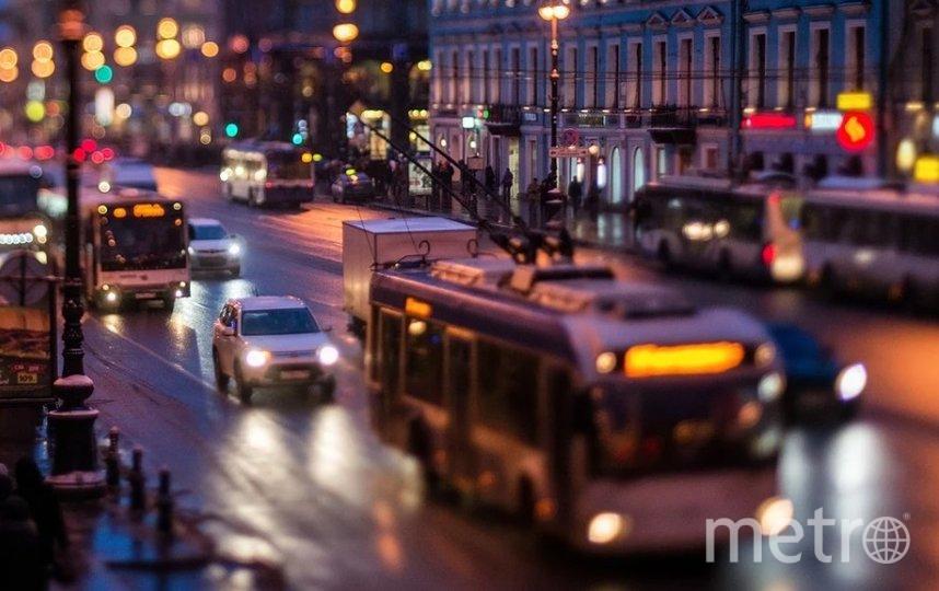 На Невском проспекте пропал свет. Фото Pixabay.