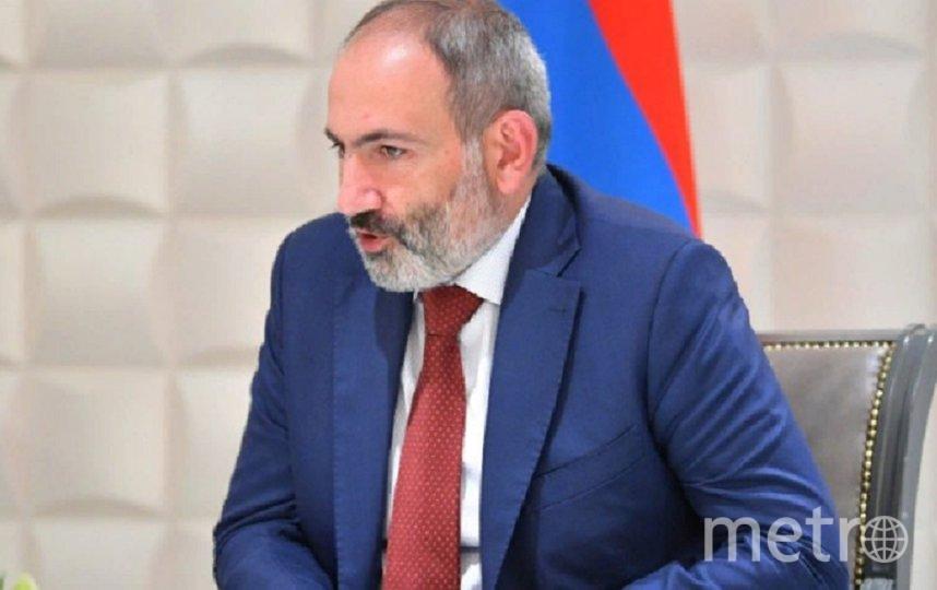 Премьер-министр Армении Никол Пашинян. Фото  kremlin.ru.