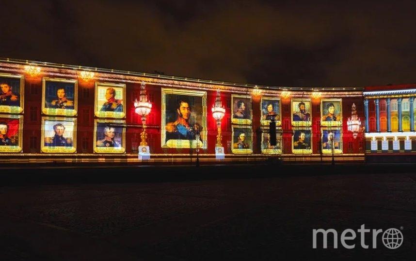 3D-мэппинг-шоу в честь Дней Эрмитажа украсит Дворцовую площадь. Фото Предоставлено организаторами.