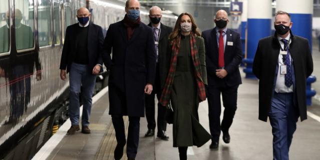 Кейт и Уильям отправляются в Шотландию.