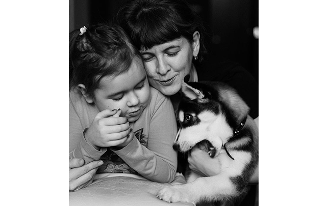 Олеся и дочь Маша. Фото фотограф Елена Петрова
