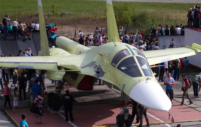 «Сухой» подписала новый договор с министерством обороны на изготовление ещё 20 истребителей Су-34. Фото nsknews.info