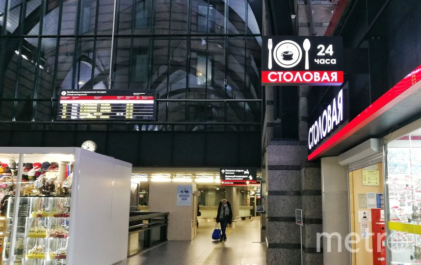 "Ладожский вокзал. Фото Алена Бобрович, ""Metro"""