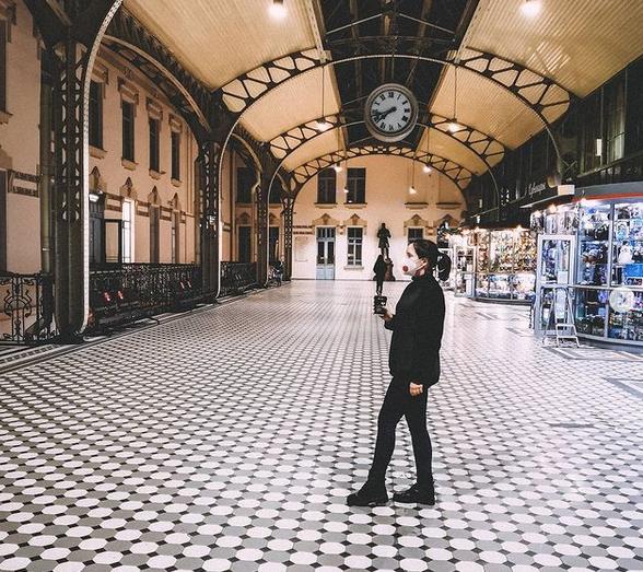 """На Витебский вокзал можно прийти просто потому, что он красивый. Фото instagram @ksu_writer, """"Metro"""""""
