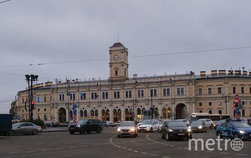 "Московский вокзал. Фото ""Metro"""