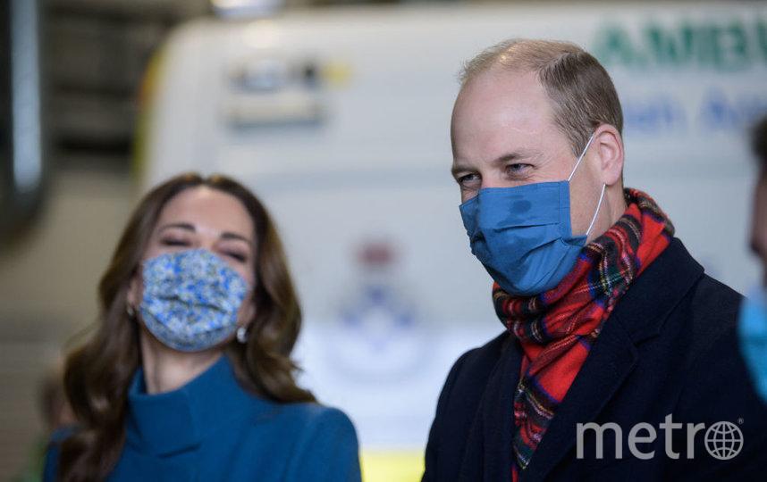 Кейт Миддлтон и принц Уильям. Фото Getty
