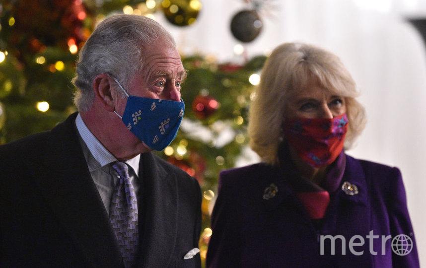 Фото из рождественского тура Кейт Миддлтон и принца Уильяма. Принц Чарльз и Камилла. Фото Getty