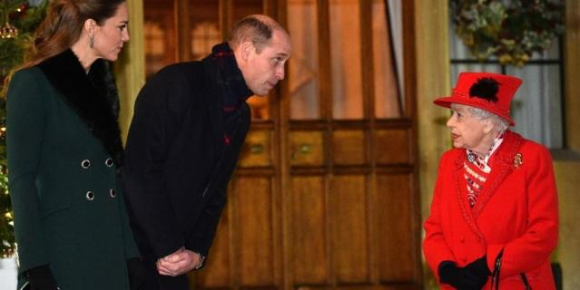 Фото из рождественского тура Кейт Миддлтон и принца Уильяма.