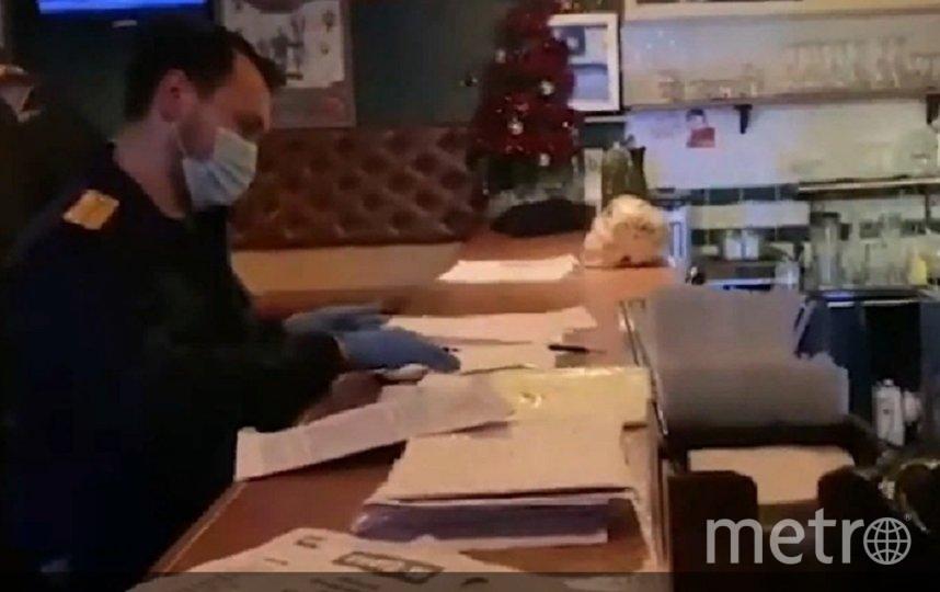 СК провел ночной рейд по барам в центре города. Фото скрин видео СУ СК РФ по Петербургу.