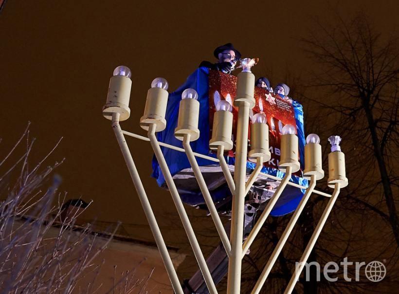 """10 декабря в 19:30 в Петербурге состоится торжественное зажигание Первой свечи Хануки. Фото Алена Бобрович, """"Metro"""""""