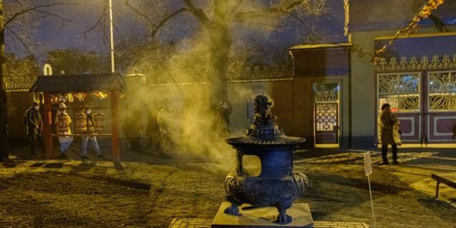 В буддийском храме Северной столицы отмечают Зула Хурал.