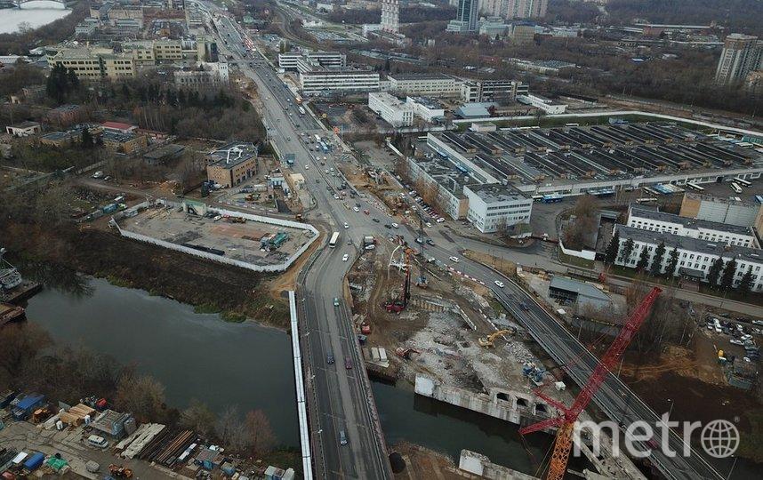 """Ежегодно в Москве возводят новые дороги и развязки. Фото АГН """"Москва"""""""