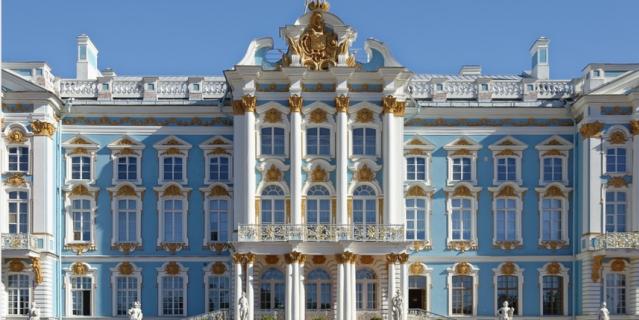 Екатерининский дворец в Пушкине.