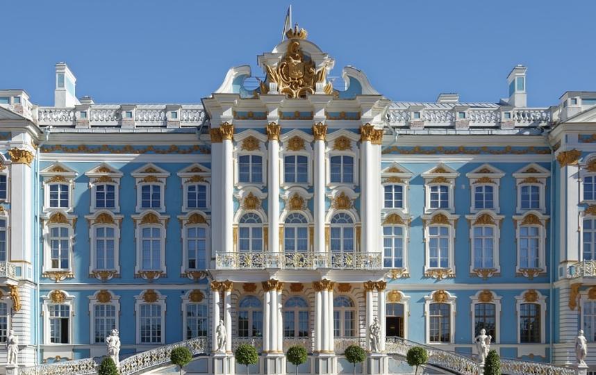 Екатерининский дворец в Пушкине. Фото pixabay.com