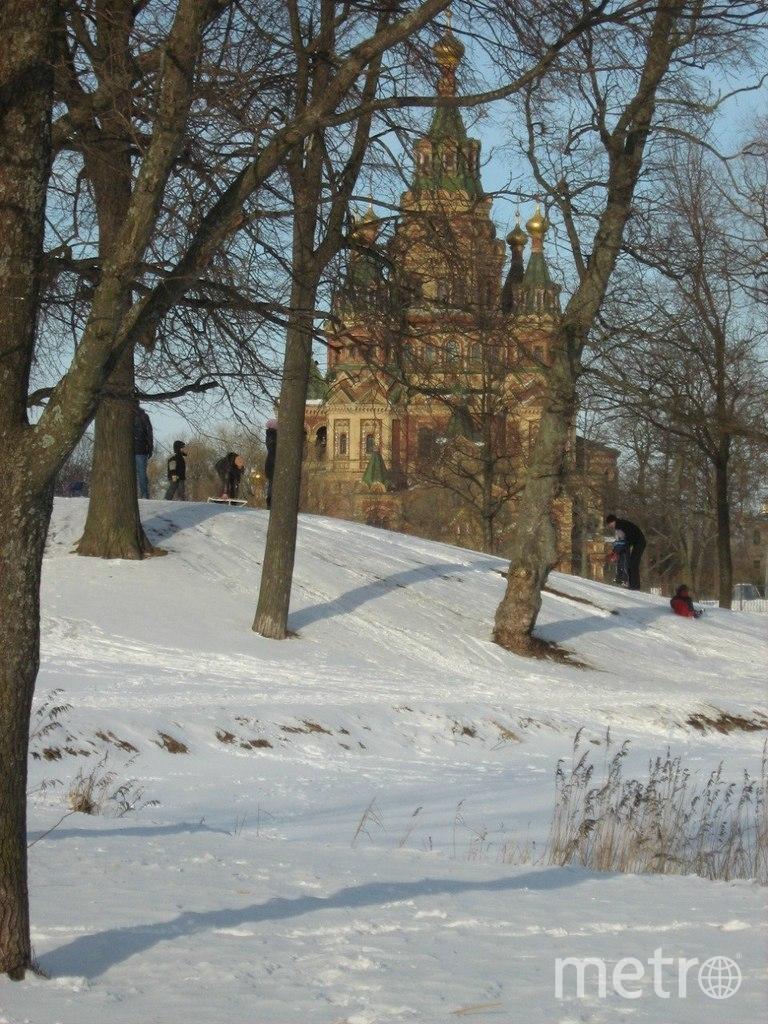 """Чертова горка зимой. Фото Евгения Назарова, """"Metro"""""""