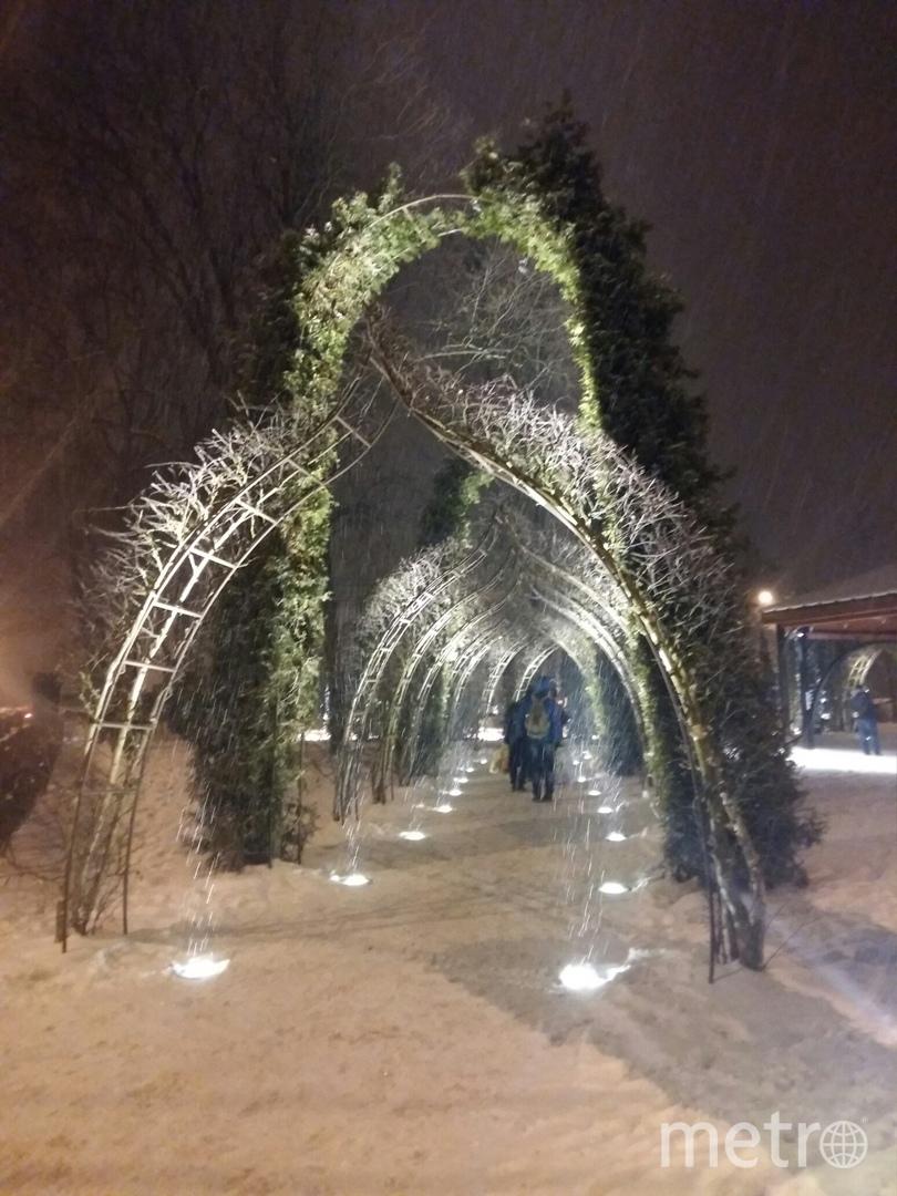 """Зимой фонтан не работает. Фото Евгения Назарова, """"Metro"""""""