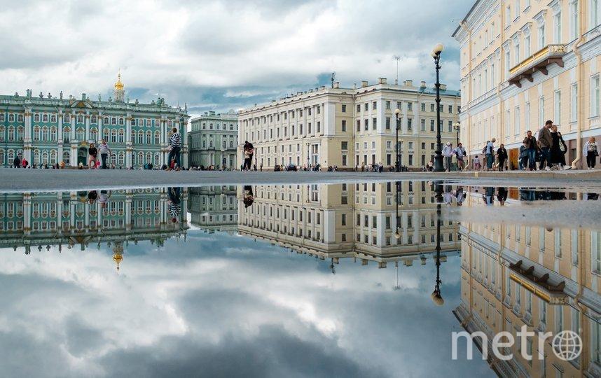 Дворцовая площадь. Фото Алена Бобрович.
