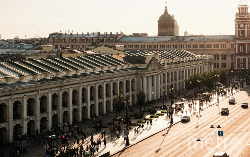 Невский проспект. Фото Алена Бобрович.