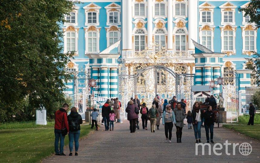 Большой Екатерининский дворец. Фото Алена Бобрович.