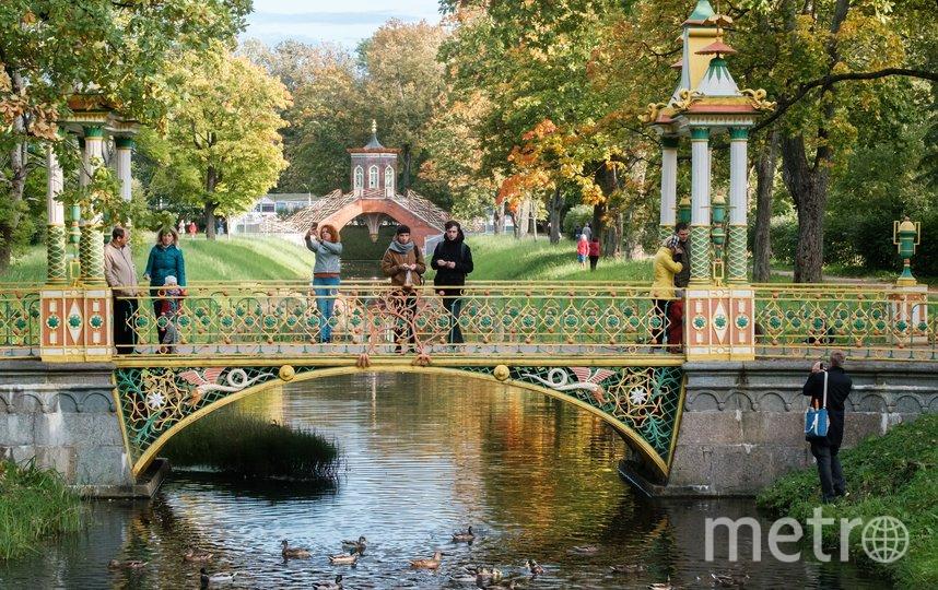 Большой китайский мост в Пушкине. Фото Алена Бобрович.