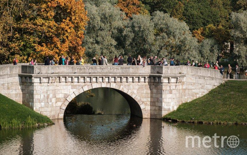 Большой каменный мост в Гатчине. Фото Алена Бобрович.