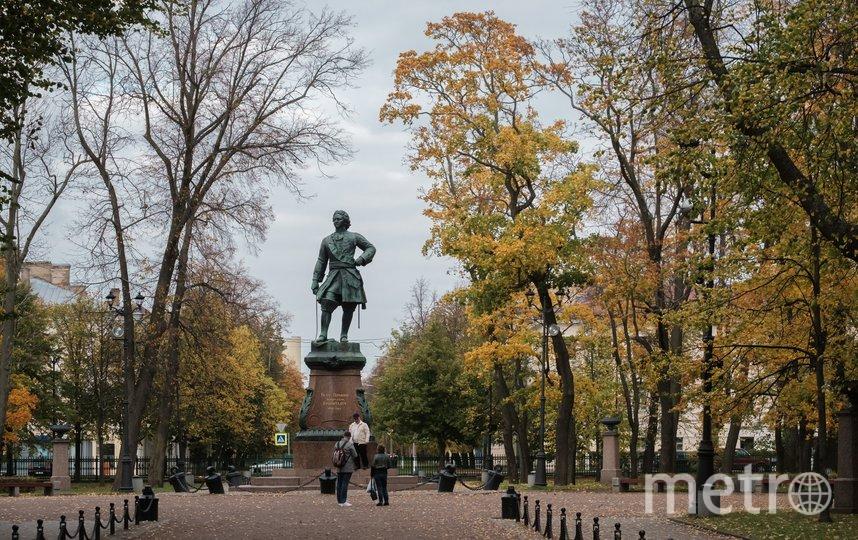 Памятник Петру Первому в Кронштадте. Фото Алена Бобрович.