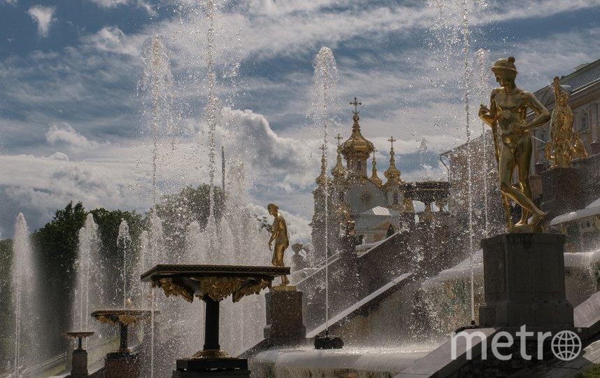 Дворцово-парковый ансамбль и исторический центр Петродворца. Фото Алена Бобрович.