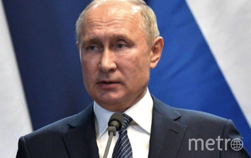 Владимир Путин. Фото kremlin.ru.