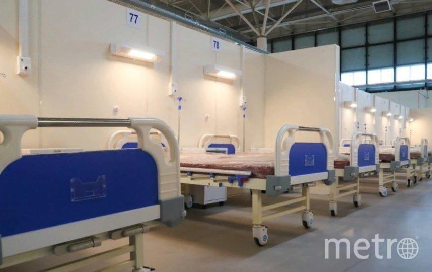 Предыдущий пик в 5,5 тыс. госпитализаций был зафиксирован неделей ранее. Фото  gov.spb.ru.