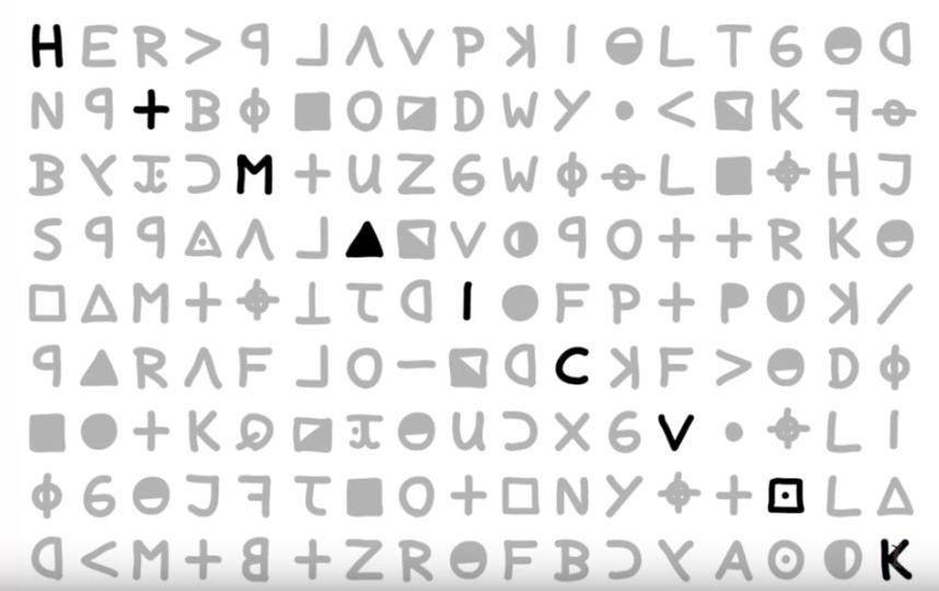 Дэвид Оранчак пытался расшифровать послание на протяжении 14 лет. Фото  David Oranchak, Скриншот Youtube