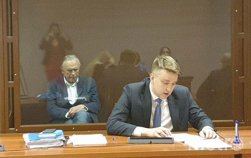 Историк Соколов выступил с последним словом в суде. Фото Объединенная пресс-служба судов Петербурга.