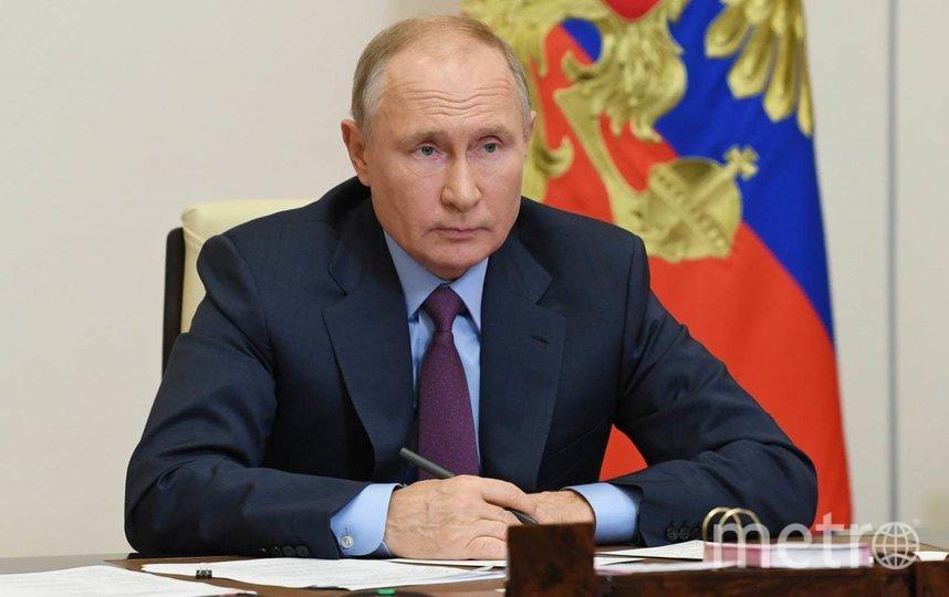 Путин поздравил Байдена с победой на президентских выборах.