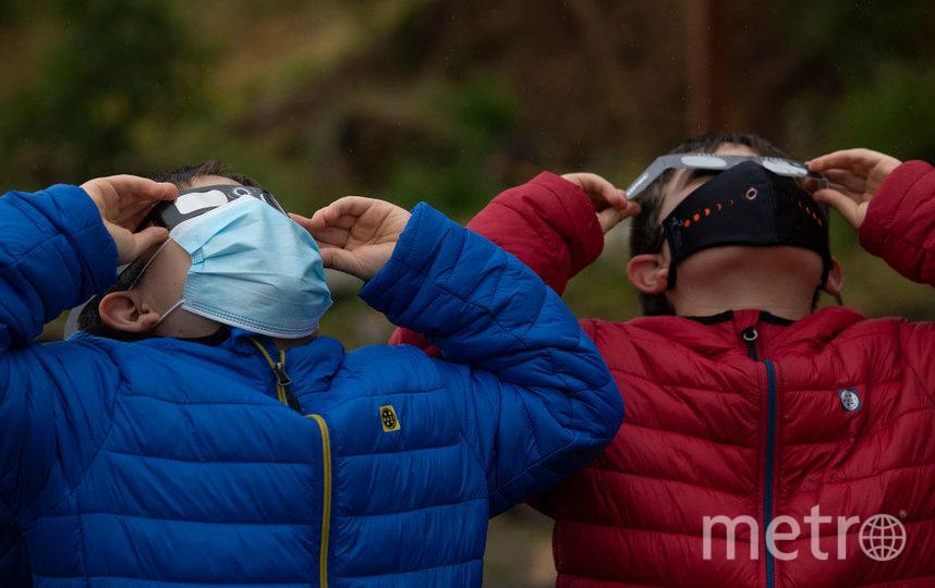 В Чили наблюдали затмение Солнца. Фото Getty