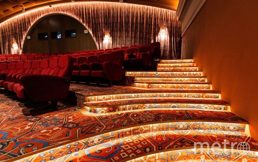Планируется, что первых зрителей кинотеатр примет до конца декабря этого года. Фото Максим Мишин   пресс-служба мэра и правительства москвы