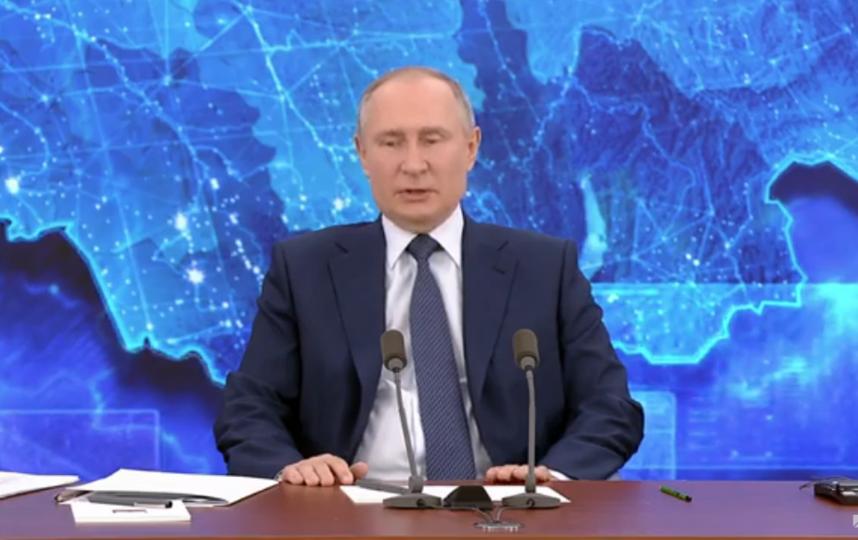 Путин пообещал по 5 тысяч на каждого ребенка до семи лет. Фото Скриншот Youtube