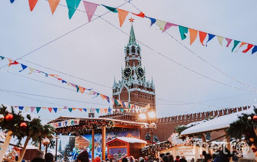 Москва – одно из самых притягательных мест для туристического бизнеса. Фото pixabay