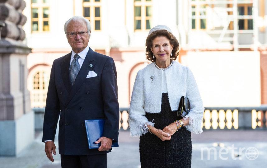 Король Швеции Карл ХVI Густав и королева Сильвия. Фото Getty